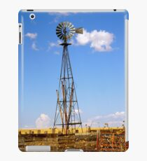 Windmill in Moriarty, New Mexico iPad Case/Skin