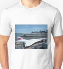 Classic British Airways Concorde, Intrepid Air and Space Museum, Hudson River, New York City T-Shirt