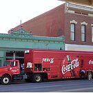 Coca Cola Comes to the Wild West  by clizzio