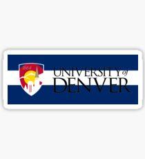 University of Denver / Colorado Flag Sticker