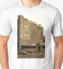 Auburn, NY - Diner and Ghost Mural Unisex T-Shirt