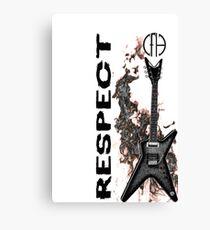 pantera cfh respect guitar Canvas Print