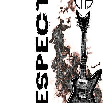 pantera cfh respect guitar by claritykiller