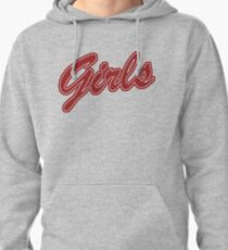 Girls (Red) Pullover Hoodie