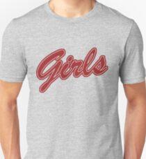 Mädchen (rot) Slim Fit T-Shirt