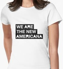 new americana Women's Fitted T-Shirt