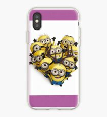 Minion love group iPhone Case
