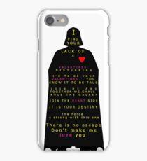 Star Wars Darth Vader: Valentines iPhone Case/Skin