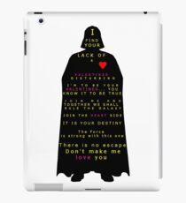 Star Wars Darth Vader: Valentines iPad Case/Skin