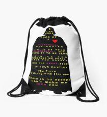 Star Wars Darth Vader: Valentines Drawstring Bag