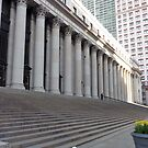 New York City Post Office  by clizzio