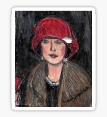 The Red Hat 1920's #1 in a Series Sticker