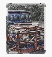 Aged Toyota iPad Case/Skin