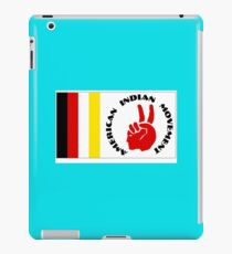 American Indian Movement with Flag iPad Case/Skin