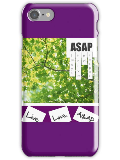 Live.Love.A$AP by Emoni Bennett