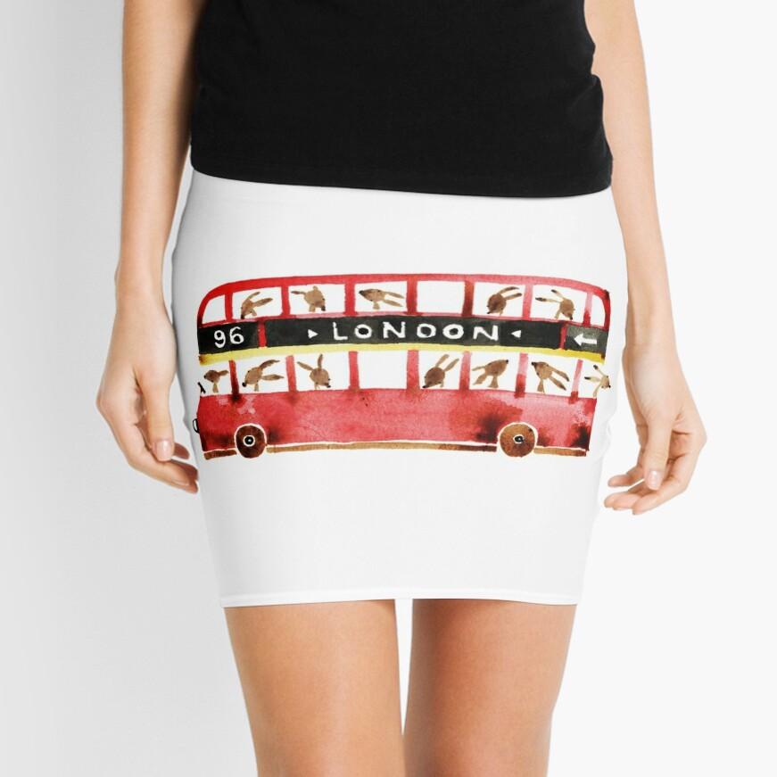 Bunny in London Mini Skirt