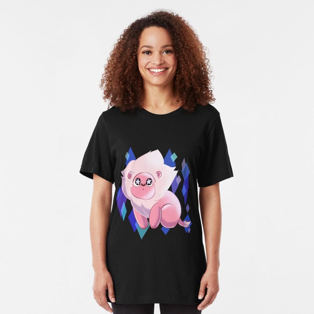 SU - Starry Eyed Lion  Slim Fit T-Shirt