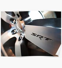 2012 Dodge Challenger Rim Detail Poster