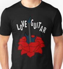 Love Guitar Unisex T-Shirt