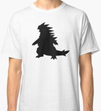 Tyranitar Silouette Classic T-Shirt