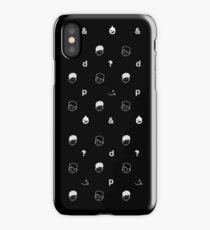 black sesame iPhone Case