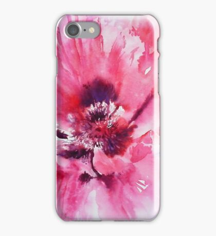 Plum Poppy iPhone Case/Skin