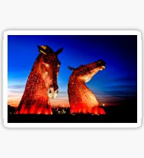 """THE KELPIES"" ANOTHER TAKE. Sticker"