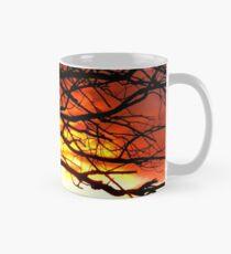 Sunset and tree silhouettes Tasse (Standard)