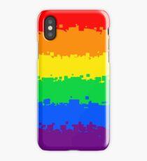 Gay Pride Flag- Retro iPhone Case