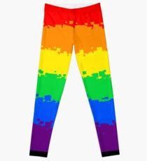 Legging Gay Pride Flag- Retro