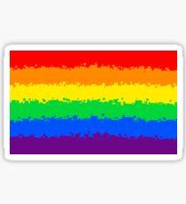 Gay Pride Flag- Retro Sticker