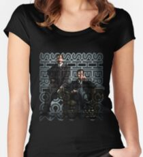 Sherlock Christmas special Women's Fitted Scoop T-Shirt