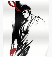 Ryu Stain style Poster
