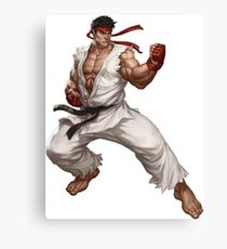 Ryu fight - Street Fighter Canvas Print