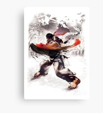 Ryu super hook - street fighter Canvas Print