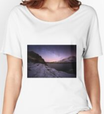 Milky Way in the Scottish Highlands  Women's Relaxed Fit T-Shirt