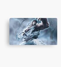 Ryu Storm style - Street Fighter Canvas Print