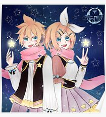 RIn and Len - Gemini Poster