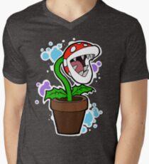 Mario Plant Men's V-Neck T-Shirt