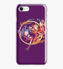 Carry Needs Support - Jinx & Leona iPhone Case/Skin