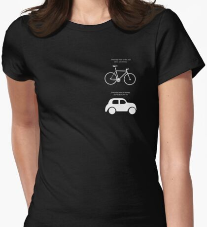 This one runs on fat and saves you money - Small logo T-Shirt