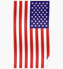 US National Flag Poster