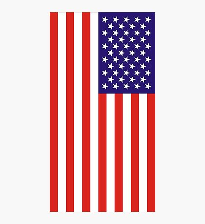US National Flag Photographic Print