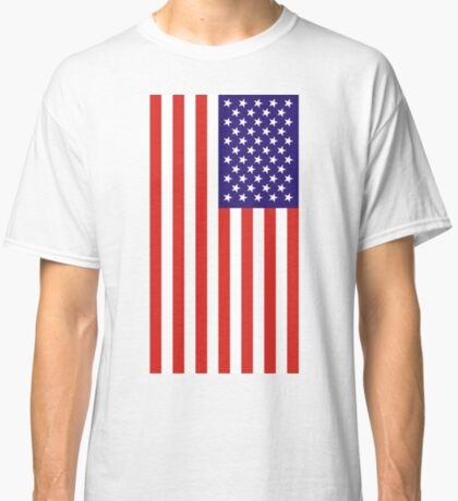 US National Flag Classic T-Shirt