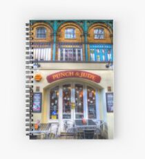 The Punch And Judy Pub Covent Garden Spiral Notebook