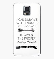Throne of Glass - Quote Case/Skin for Samsung Galaxy