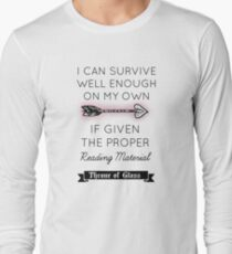 Throne of Glass - Quote Long Sleeve T-Shirt