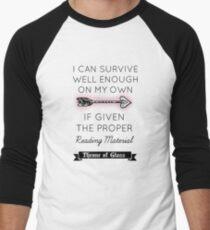 Throne of Glass - Quote Men's Baseball ¾ T-Shirt
