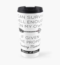 Throne of Glass - Quote Travel Mug