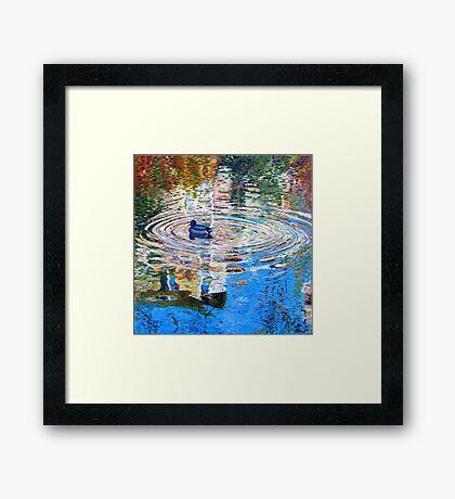 Bercy Pond Framed Print